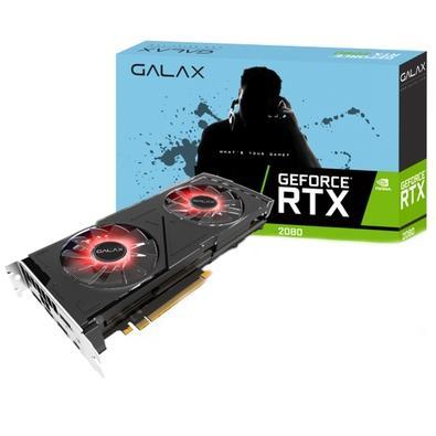 Placa de Vídeo Galax NVIDIA Geforce RTX 2080 OC 8GB, GDDR6 - 28NSL6UCT7OC