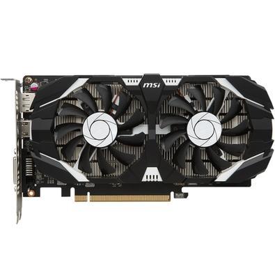 Placa de Vídeo VGA NVIDIA MSI Geforce GTX 1050 2GT OC 2GB, GDDR5, 128 bits, PCI-E 3.0