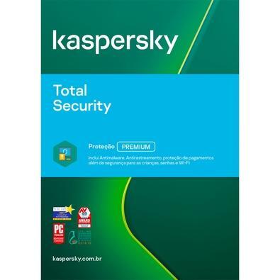 Kaspersky Antivírus Total Security 2020 Multidispositivos 10 PCs - Digital para Download