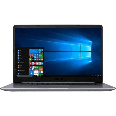 Notebook Asus VivoBook 15, Intel Core i5-7200U, 4GB, 1TB, 15.6´, Windows 10 Home, Cinza - X510UA-BR665T
