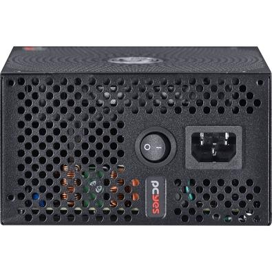 Fonte PCYes Electro V2 450W, 80 Plus Bronze - ELECV2PTO450W
