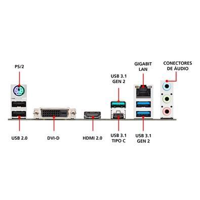 Placa-Mãe Asus TUF B450M-Plus Gaming, AMD AM4, mATX, DDR4