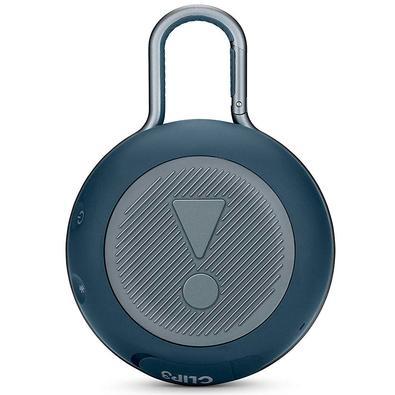 Caixa de Som JBL Clip 3, Bluetooth, À Prova D´Água, 1x3W, Azul - JBLCLIP3BLU