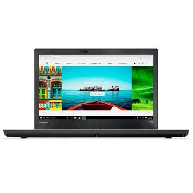 Notebook Lenovo ThinkPad T470 Intel Core I7-7600U 8GB SSD 256GB 14 Windows 10 PRO Preto VPRO 20HE005CBR