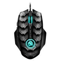 Mouse Gamer Sharkoon Drakonia II, RGB, 12 Botões, 15000DPI, Preto