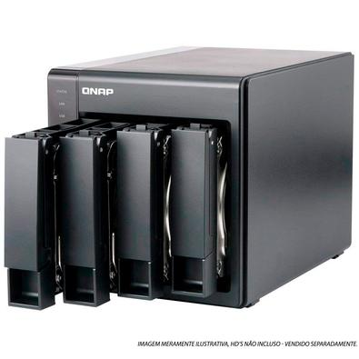 Storage QNAP NAS Intel Celeron, Quad-Core, 2.0GHz, 2GB DDR3L, 4 Baias Sem Disco - TS-451+-2G