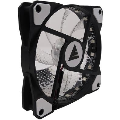 Cooler Fan Bluecase BF-06RGB, RGB 7 Cores, 12cm - BF06RGBCASE