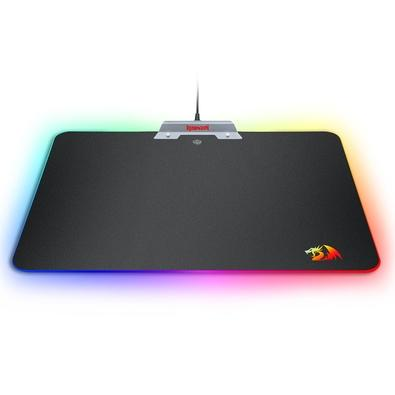 Mousepad Gamer Redragon P011 Orion, RGB, Médio (350x250mm)