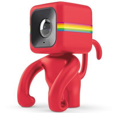 Suporte de Câmera Polaroid, Cube, Monkey, Vermelho - POLC3MSR