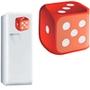 Mousepad Reliza Decor ColorFun Dado, 280x240x5mm