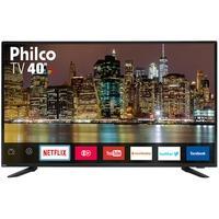 Smart TV LED 40´ Full HD Philco, 3 HDMI, 2 USB, Wi-Fi - PTV40E60SN