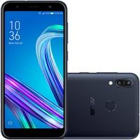Smartphone Asus Zenfone Max M2, 32GB, 13MP, Tela 5.5´, Preto - ZB555KL-4A158BR