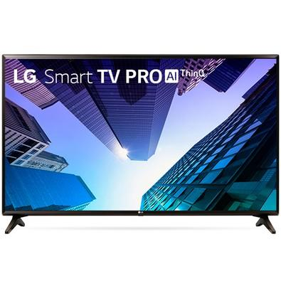 Smart TV LED 43´ Full HD LG, Conversor Digital, 2 HDMI, USB, Bluetooth, Wi-Fi, HDR, ThinQ - 43LK571C