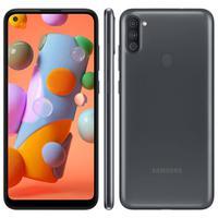 Smartphone Samsung Galaxy A11, 64GB, 13MP, Tela 6.4´, Preto - SM-A115MZKGZTO