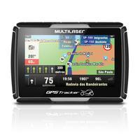 GPS para Moto LCD 4,3 Pol. Touch Resistente a Água Case com Carregador Multilaser - GP040
