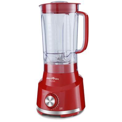 Liquidificador Britânia BLQ1400 Vermelho 1400W 220V