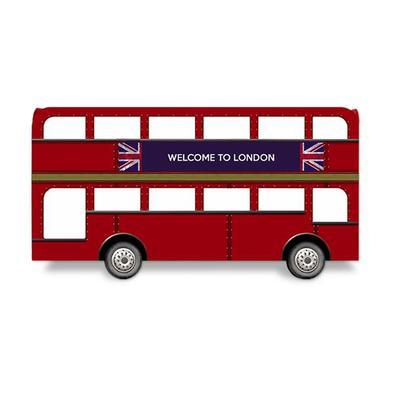 Porta-Lápis Ônibus Londres