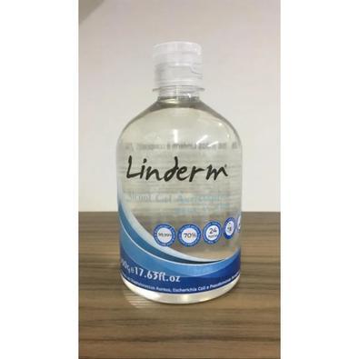Álcool Gel Antisséptico para as Mãos Linderm 500gr