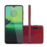 Smartphone Motorola Moto G8 Play 32GB Tela 6,2´´ 2GB Câm. Tripla + Câm. Selfie 8MP Vermelho Smartphone Motorola Moto G8 Play 32GB Tela 6.2´´ 2GB Câm. Tripla + Câm. Selfie 8MP Vermelho