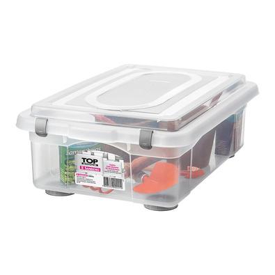 Caixa Organizadora Sanremo SR970 28,2L Plástico Transparente Caixa Organizadora Sanremo SR970 28.2L Plástico Transparente