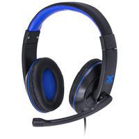 Fone de Ouvido Headset Gamer VX Gaming Blade II P2 Preto com Azul