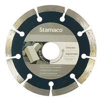 Disco Diamantado Stamaco Segmentado 110mm Esmerilhadeira 110mm