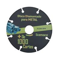 Disco Diamantado Para Metal Mil Cortes 115mm Stamaco 115mm