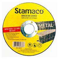 Disco De Corte Metal 115x 3.0x 22,23mm Stamaco 115mm