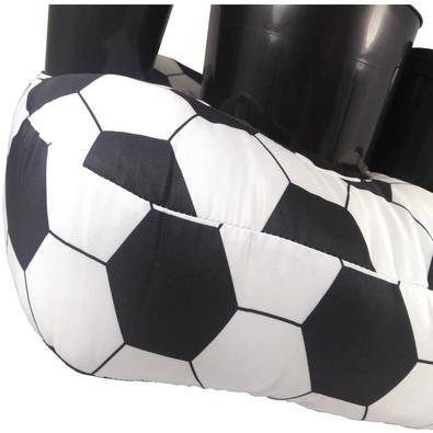 Almofada Porta-Pipoca Bola de Futebol