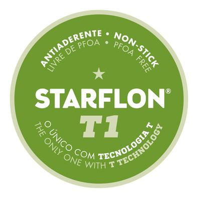 Assadeira Funda Tramontina Alumínio Revestimento Antiaderente Starflon T1 Vermelha 28 cm 3,3 L Tramontina