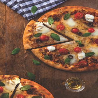 Assadeira para Pizza Tramontina Grafite em Alumínio com Revestimento Antiaderente Perfurada 30 cm Tramontina