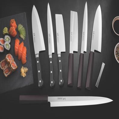 Faca Nakiri Tramontina Sushi com Lâmina em Aço Inox e Cabo de Policarb Tramontina