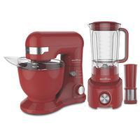 Kit Cozinha Batedeira e Liquidificador, Britânia, Concept Red, 127V - BKT16V