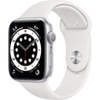 Apple Watch Series 6 S6, 44mm, GPS, Pulseira Sport, Branco - B08J5V1YWL