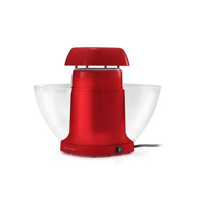 Pipoqueira de Tigela 127V Vermelho Multilaser - CE119