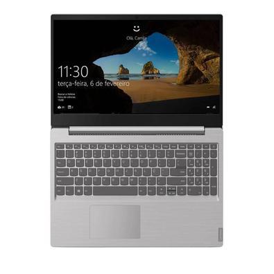 Notebook Lenovo Ideapad Intel Core I5, 8GB, Tela 15.6´, Prata - 82DJ0001BR