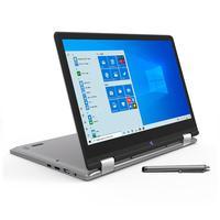 Notebook Positivo Duo Intel, 4GB, SSD 64GB, 2 em 1, 2.4GHz, 12´, Full HD, Cinza