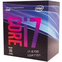 Processador Intel Core i7-8700 Coffee Lake 8ª Geração, 3.2GHz, 4.6GHz, LGA 1151 - BX80684I78700