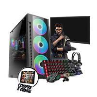 Pc Gamer Hércules Intel i3 GT 730 4GB 8GB Hd 500GB Wi-fi
