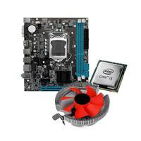 Kit Upgrade, Intel Core i3-3220, Placa mãe H61 + Cooler Universal