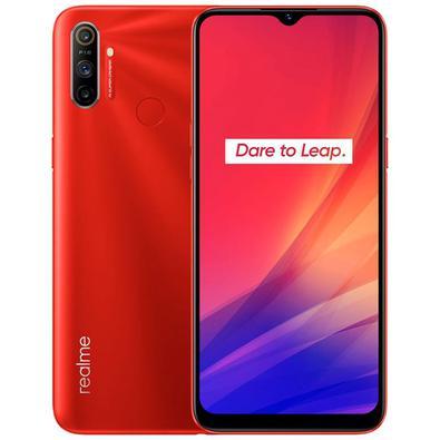 Celular Smartphone Realme C3 64gb Vermelho - Dual Chip