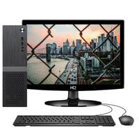 Computador Skill Slim Completo Intel Celeron J1800, 8GB, HD 500GB, 2.58Ghz, Monitor 15.6´, HDMI, LED, Áudio 5.1 canais