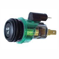 Acendedor Anel Difusor, 24V, Verde - DNI 0564