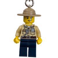 Chaveiro City Lego - Polícia do Pântano