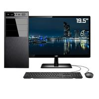 "Computador Completo Intel 7ª Gen, 4GB, SSD 102GB, Intel UHD 610, Monitor 19.5"""