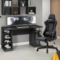 Combo Cadeira Gamer MoobX GT Racer + Mesa Gamer XP