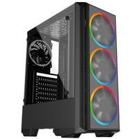 Computador Skill PCX Gamer AMD Ryzen 3, Geforce GTX 1050 Ti 4GB, 8GB DDR4 2666MHZ, SSD 480GB, 500W
