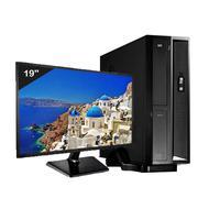 """Mini Computador ICC Intel Core I5, 8gb, HD 1TB, Kit Multimídia, Monitor 19.5"""", Windows 10 - SL2582KM19"""