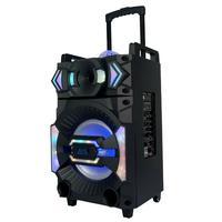 Caixa De Som Portátil  Bluesound  Karaokê Vegas 4000, 400W Rms, Bivolt