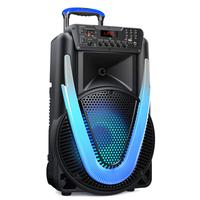 Caixa de Som Multilaser SUNNY II 500W LED 12 Pol. Bluetooth/Aux/SD/USB/FM/P10/TWS - SP395